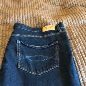 Abercrombie and Fitch Dark Rinse Skinny Jean